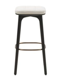 pierre cardin brass and leather bar stools chairs pinterest