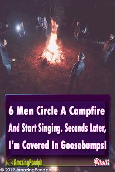 6 Men Circle A Campfire And Start Singing. Seconds Later, I'm Covered In Goosebumps! Country Music Videos, Country Music Singers, Songs To Sing, Music Songs, Good Music, My Music, Amazing Music, Home Free Vocal Band, Songs About Fire