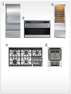 Some of the most beautiful kitchen appliances known to man :)