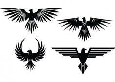 Image result for eagle tattoo tribal