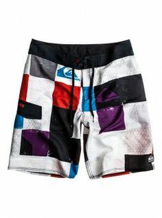 Quiksilver Checked 21 BS #Quiksilver #Checked #21 #BS #Badehose #Boardshorts #Swim #Suit #Trunks #Men #Maenner