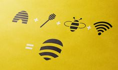 Bee Connect logo design process ~ With optimal health often comes clarity of thought. Click now to visit my blog for your free fitness solutions!