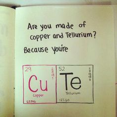 The science geek in me wishes I thought of this 15 years ago : ) Too cute!