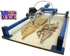 Gemini Wood Carver Duplicator - The Carving Duplicator Machine for the Woodworker Professional
