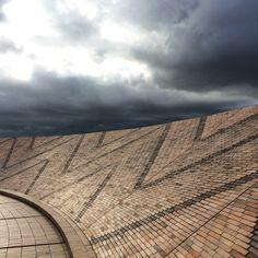Bogota (Colombia) - Virgilio Barco Library - Salmona rooftop - brick - Jorge Torres ©