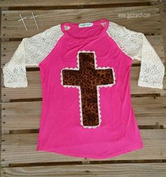 Elite Angel Leopard Cross Baseball Top - Also in Plus Size