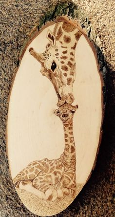 Pyrography, Wood burning,  L.B