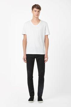 COS | Deep round-neck t-shirt