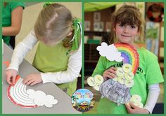 This Pot O' Sight Words Craftivity is a fun way to encourage students to practice reading sight words around St. Patrick's Day! Your children can practice fine motor skills through coloring, cutting, and gluing. They will get practice with spatial arrangements by assembling the pieces to create their pot of gold and rainbow. Children will also practice identifying high-frequency words on their gold coins. So much fun and learning all rolled into one art project!