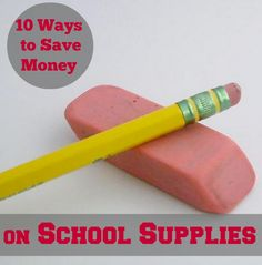 10 Ways to Save on Everything for Back to School #BTS - Mindfully Frugal Mom