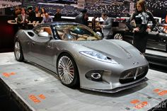 Hailing from the Netherlands, Spyker produce highly exclusive handcrafted super cars