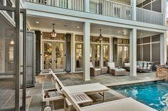WaterColor, Florida Oasis Outdoor Living Poolside