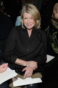 Chado Ralph Rucci Front Row - Martha Stewart