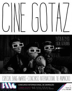 Bang Awards no Gotaz! A edição de agosto do Cine Gotaz será voltada para o Bang Awards, um evento de referência internacional no campo das artes digitais e comunicação multimídia.
