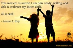 How do you embrace your inner child?
