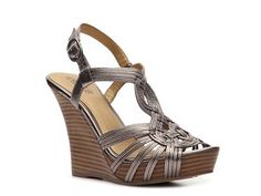 Seychelles Good as Gold Wedge Sandal