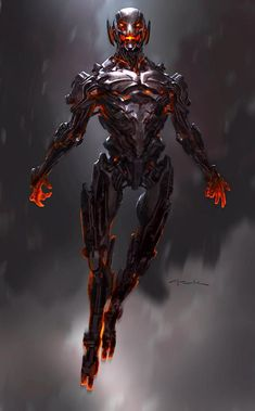 Avengers Age of Ultron Andy Park Concept Art 1 Avengers: Age of Ultron Concept Art Reveals Alternate Ultron Designs Marvel Villains, Marvel Dc Comics, Marvel Characters, Marvel Heroes, Marvel Movies, Comic Book Characters, Marvel Rpg, Captain Marvel, Ultron Marvel