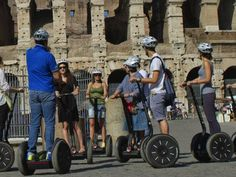 If you are a first time visitor of Rome and wondering how would you manage to explore the city,then you should opt for segway tours in Rome