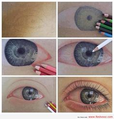 Awesome Eye Sketch