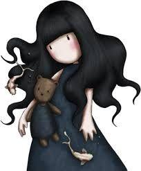 Resultado de imagen de dibujos de muñecas gorjuss