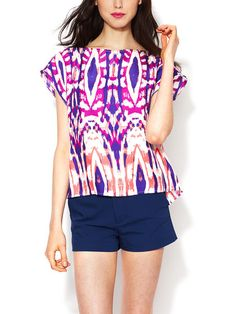 Silk Murphy Top by Alice & Trixie - size L