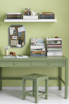 Is your craft room still cluttered with the remnants of holiday DIY projects? Get organized with Martha Stewart's line of Stack+Fit desktop accessories from Staples.