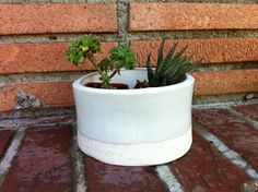 small standing pot
