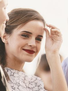 Emma Watson at Cannes Festival 2013 >>by Saintrop.com, the best site of the Cote d'Azur. No doubts!