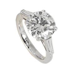 Bague diamant 4,18 cts