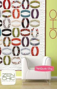 Oho Quilt Pattern Zen Chic Patterns - Fat Quarter Shop