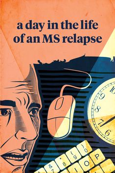 An MS relapse can last for weeks or even months, not including recovery time, and leave permanent side effects. This is an average day for one man living with MS. Ms Walk, Central Nervous System, Relapse, Multiple Sclerosis, The Life, Health, Health Care, Salud