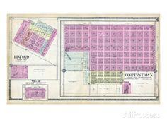 1910, Binford, Mose, Copperstown, North Dakota, United States Giclee Print North Dakota, Custom Framing, Giclee Print, United States, Bullet Journal