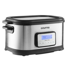 Gourmia GSV-550 9 quart Sous Vide Water Oven Cooker with Digital Timer and Temperature Controls Includes Rack, Stainless Steel