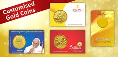 Customised Gold Coins From Parshwa Padmavati Gold