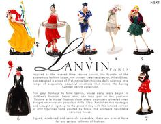 Amazing designer Quality like no other Jeanne Lanvin, Doll Painting, Miniature Dolls, Taiwan, Wander, Theatre, Porcelain, Hand Painted, French
