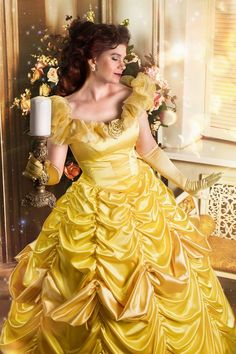Disney Dresses, Prom Dresses, Formal Dresses, Gown Skirt, Gown Dress, Belle Cosplay, Disney Girls, Disney Fun, Beautiful Wedding Gowns