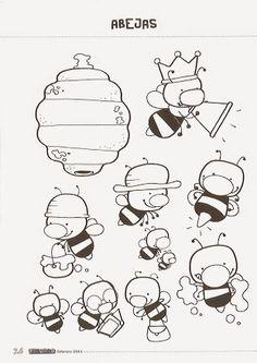 Foto: Kids Art Class, Art For Kids, Cartoon Bee, Preschool At Home, Bee Happy, Butterfly, Education, Comics, Cute