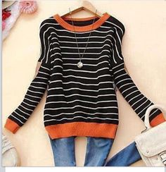 Cute sweater. Love the colors.