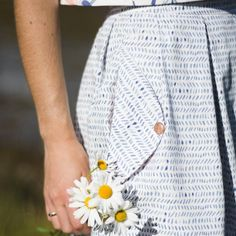 The details of this outfit by are so stunning. You must see the whole thing! Skirt: by Top: by Straight Stitch, Stitch Design, Wonderful Things, Texture, Photo And Video, Sewing, Skirts, Fabric, Wedgwood