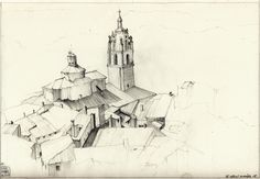 Sketchbook Camino de Santiago / Simon Prades #illustrazione #designo