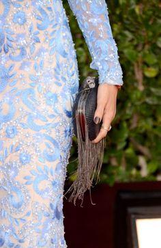 Fabulously Spotted: Nicole Richie Wearing Naeem Khan   2013 Golden Globe Awards