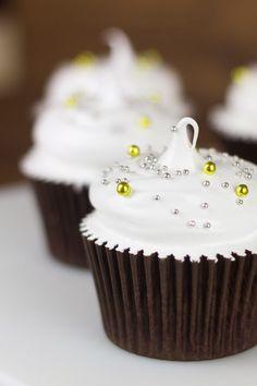 Objetivo: Cupcake Perfecto.: Cupcakes de limón y cava para terminar el año