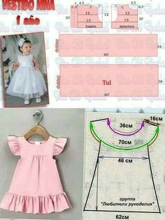Baby Clothes Patterns Sewing Kids Clothes Girl Dress Patterns Sewing Patterns For Kids Baby Patterns Sewing For Kids Little Girl Dresses Kids Frocks Dress Anak Baby Girl Dress Patterns, Baby Clothes Patterns, Dress Sewing Patterns, Little Girl Dresses, Clothing Patterns, Baby Dress Tutorials, Girls Dresses Sewing, Skirt Patterns, Coat Patterns