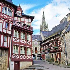 Josselin,  on ❤ le caractère de cette petite cité médiévale