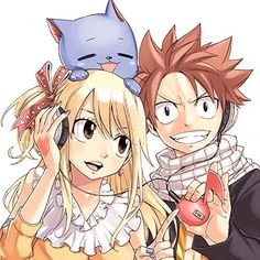 lucy x natsu   Fairy Tail   Happy, Lucy and Natsu   !!!!NALU!!!!   Pinterest ...