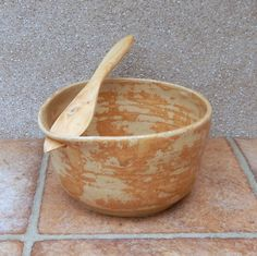 Serving bowl ...... hand thrown in stoneware pottery