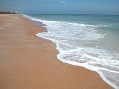 Ormond Beach, FL I love the color of the sand from all the coquina shells.