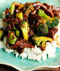 Beef and Broccoli by Table for Two