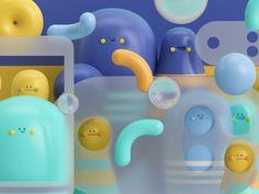 GENTE! by Aarón Martínez #Design Popular #Dribbble #shots