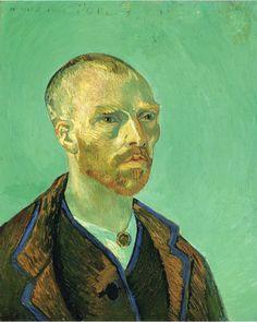 Self Portrait Dedicated to Paul Gauguin, 1888, Vincent van Gogh